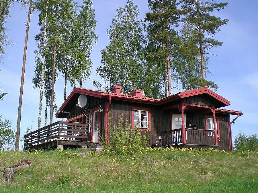 Ferienhaus Öringen am nördlichen Ende des Östra-Silen.