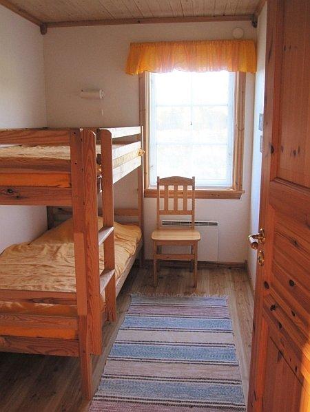 Die Schlafzimmer sind hell und freundlich.
