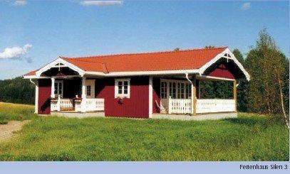 Ferienhaus Bävern am Östra-Silen.