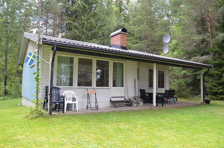 Ferienhaus Silen 6 am westlichen Ufer des Västra Silen.