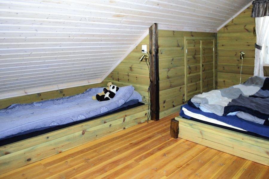 Das Schlafzimmer in der Galerie.