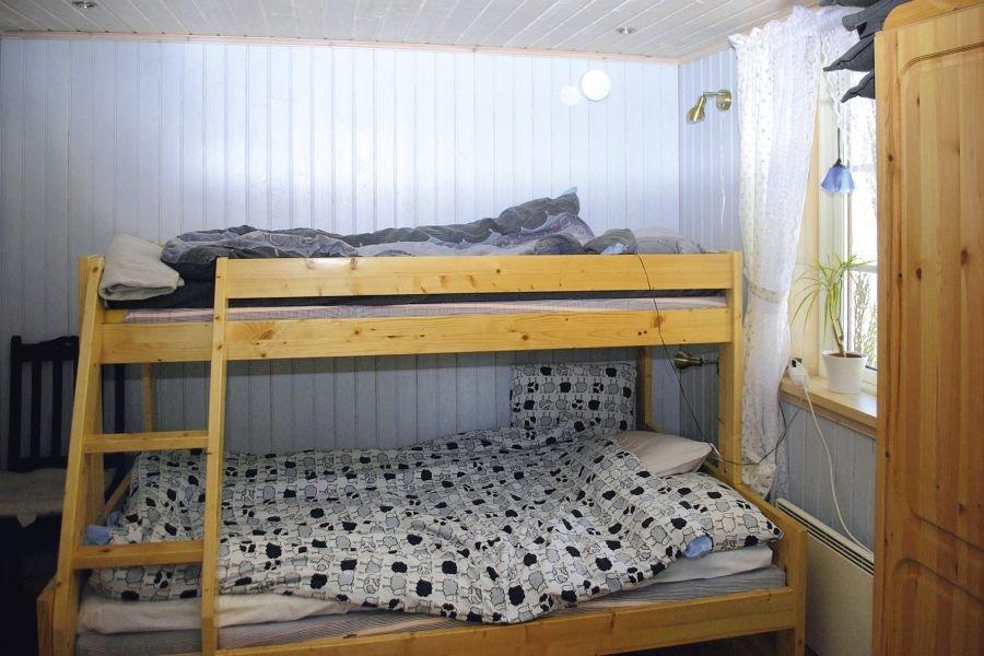 Das zweite Schlafzimmer im Haus.