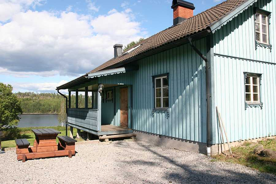 Ferienhaus Tony's Stuga am östlichen Ufer des Vestra-Silen
