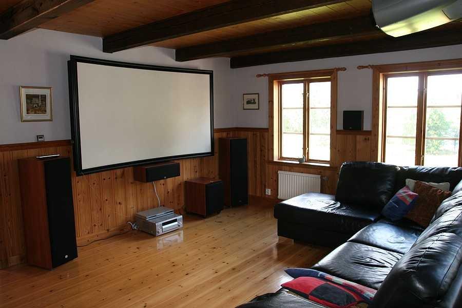 Wohnraum mit Flat-Screen TV