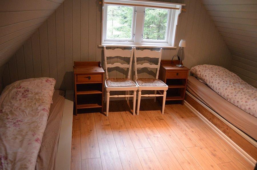 Ein Schlafzimmer.
