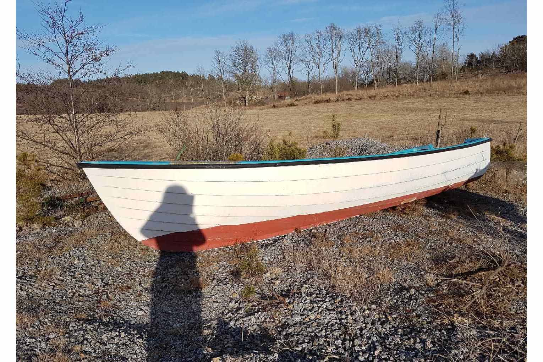 Eines der beiden Ruderboote.